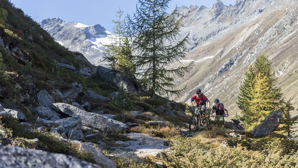 Mountainbiken in Sölden im Ötztal